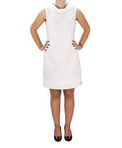 e301eba98325 Φόρεμα Από Δαντέλα Toi   Moi 50-3398-18 Λευκό