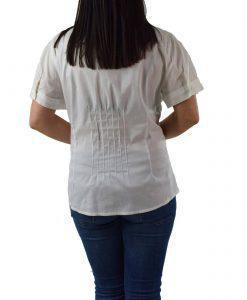 Γυναικείο Πουκάμισο Forel 468071 Πορτοκαλί Λευκό Καρό  1397aff6702