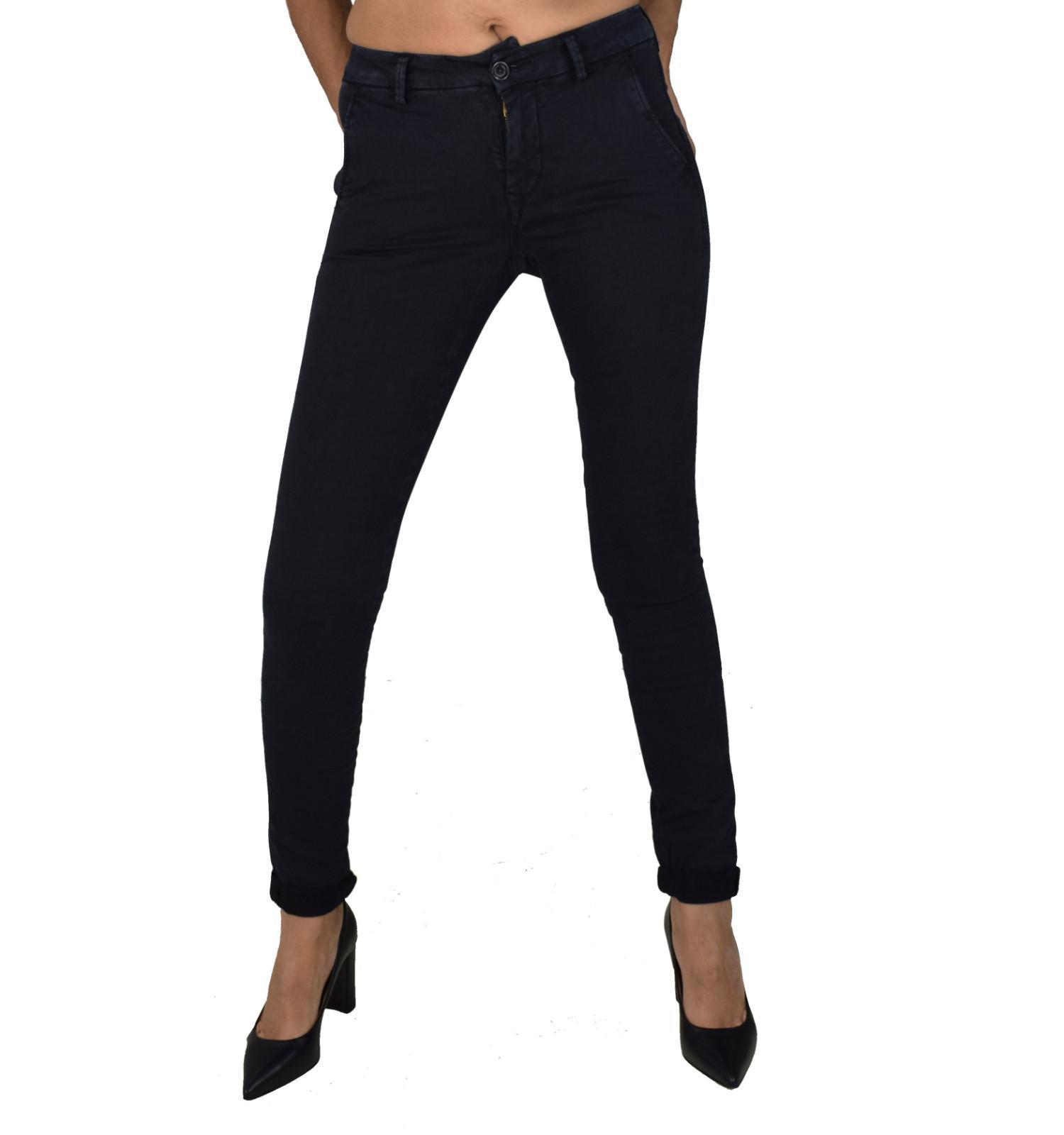 Γυναικείο Παντελόνι Καπαρντίνα Scinn Kim 217 Μπλε Μαύρο ... a2be86d412f