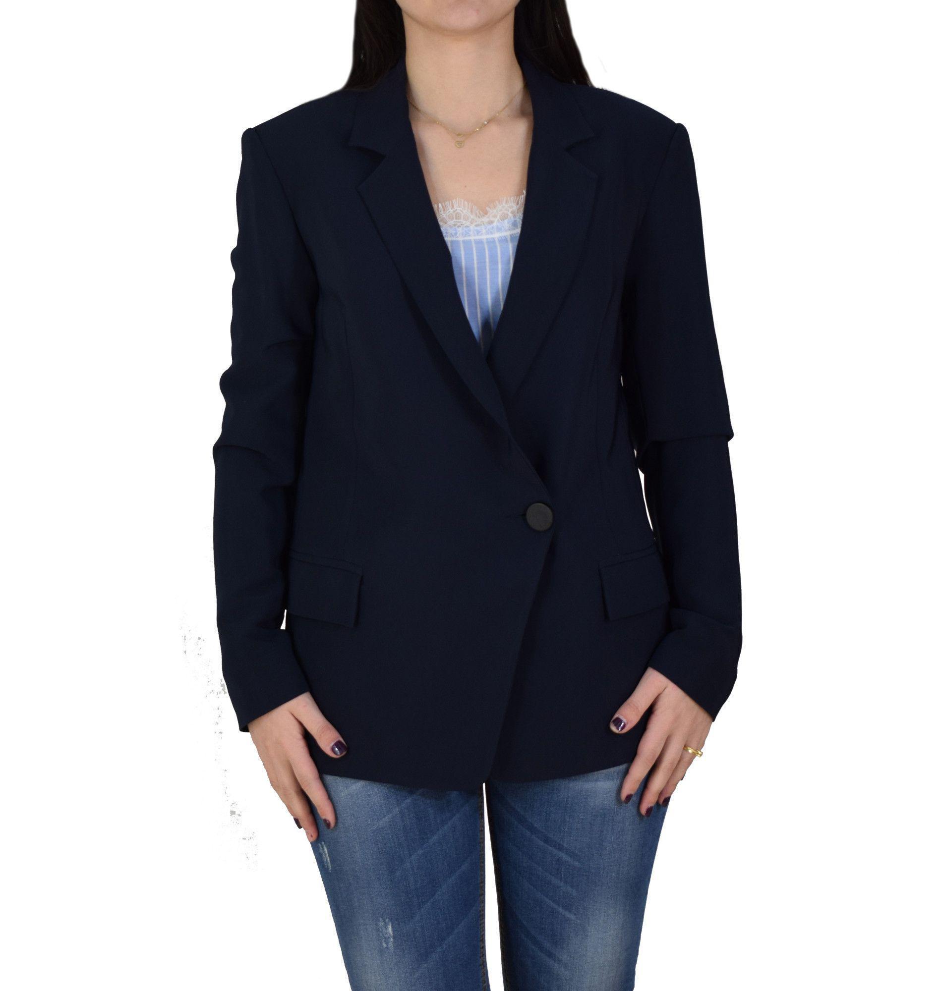 af19c0a56d94 Γυναικείο Σακάκι Toi   Moi 40-0436-19 Μπλε